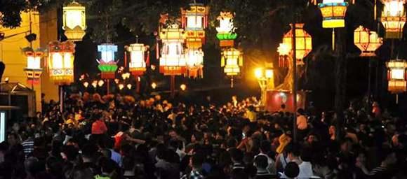 Lantern Festival activities in Dongguan
